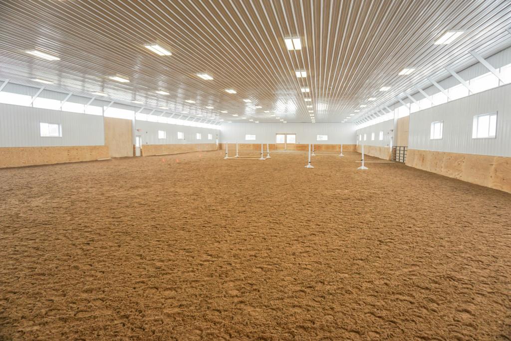 Gorgeous Indoor Arena kick walls